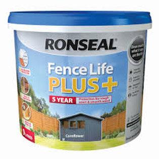 Ronseal Fence Life Plus 5L Fence Paint