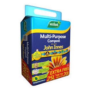 Westland Multi Purpose Compost 20L +5L With John Innes