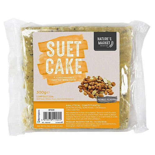 Wild Bird Suet Cake Peanuts