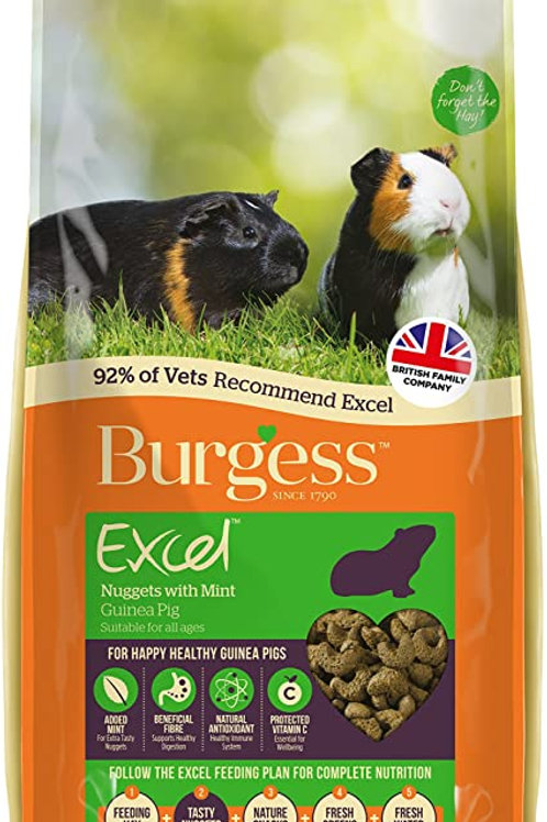 Burgess Excel Guinea Pig Mint 2kg