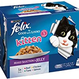Felix As Good As It Looks Kitten 12 Pack