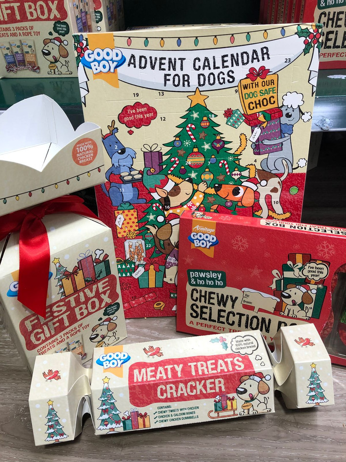 Pets Christmas goodies