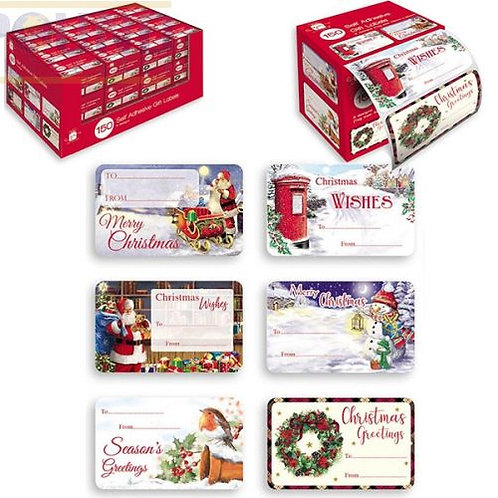 150 Gift Labels