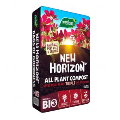 New Horizon Organic Peat Free Compost 20L + 33%