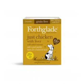 Forthglade Grain Free Just Chicken & Liver 395g
