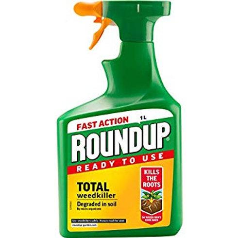 Roundup Fast Action RTU Weedkiller 1L
