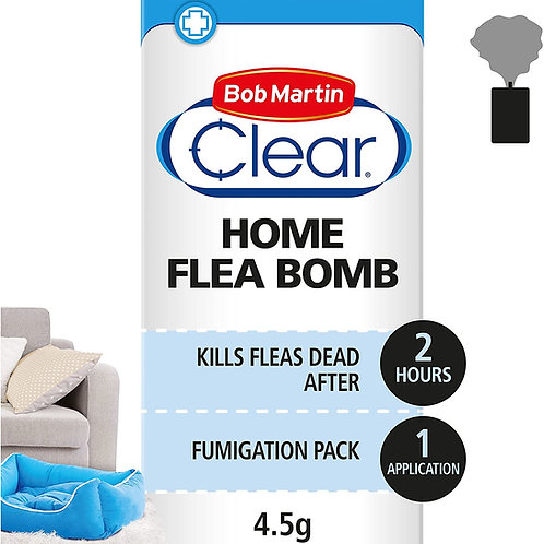 Bob Martin Clear Home Flea Bomb 4.5g