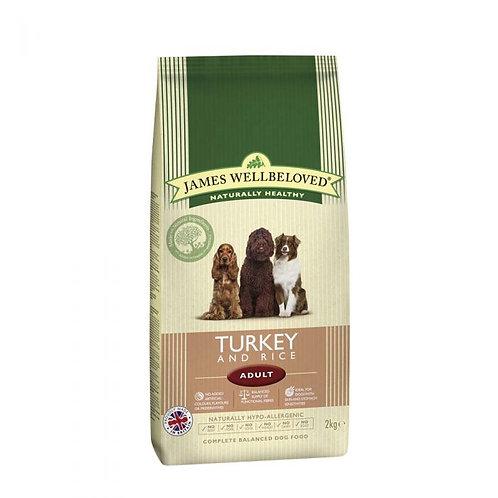 James Wellbeloved Dog Turkey & Rice Adult 2kg