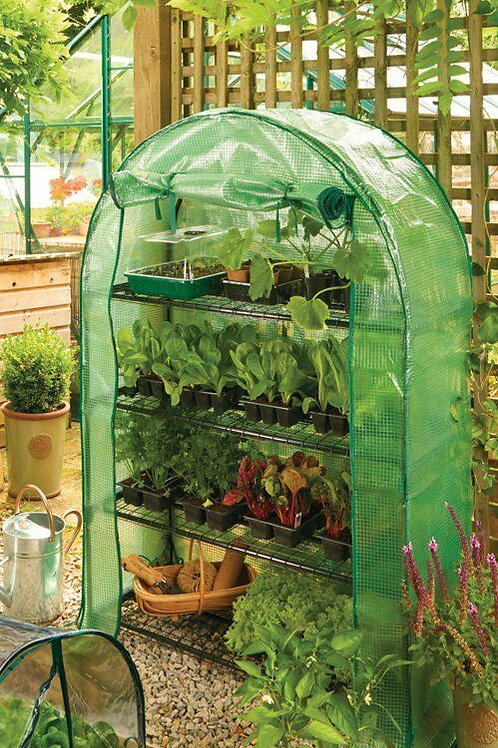 Grow It 4 Tier Grow Arc with Heavy Duty Cover (Growhouse/Greenhouse)
