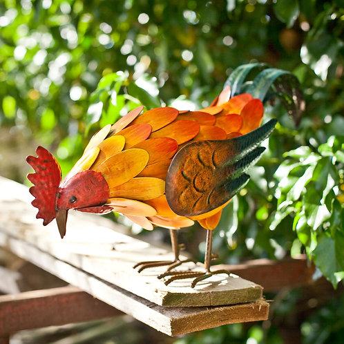 La Hacienda Realistic Feeding Rooster