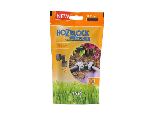 Hozelock Irrigation Elbow 2 Pack