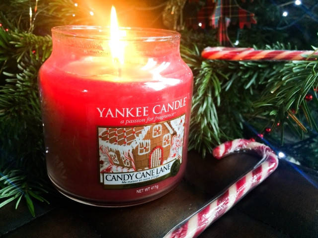 A large range of Yankee Candles, including stunning Christmas scents