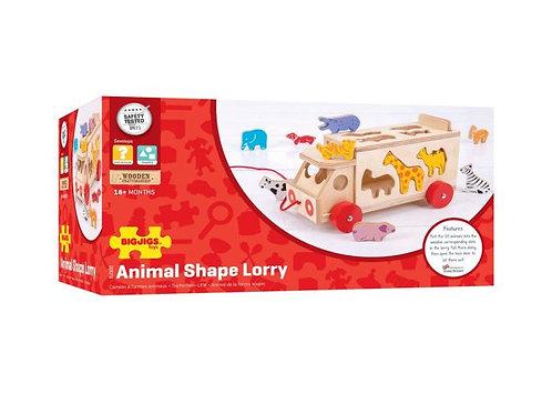 Big Jigs Animal Shape Lorry
