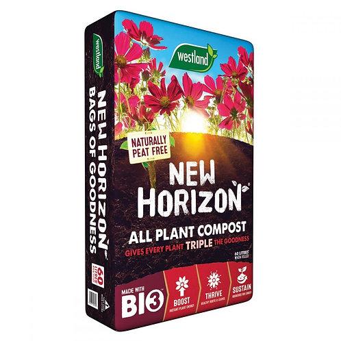 New Horizon Organic Peat Free Compost 60L