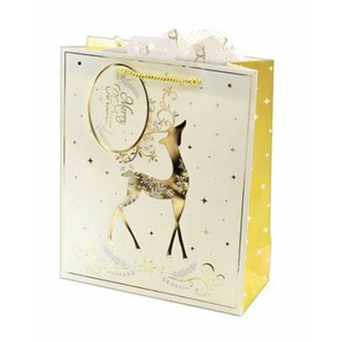 Gift Bags Golden Stag