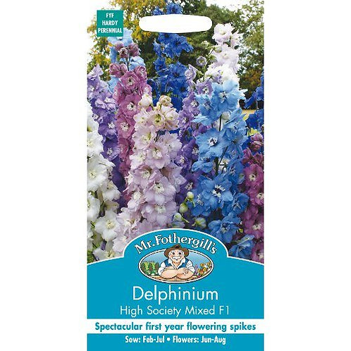 Mr Fothergills Seeds Delphinium