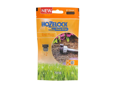 Hozelock Irrigation End Plug 2 Pack