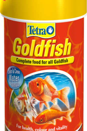 Tetra Fin Goldfish Flake Fish Food