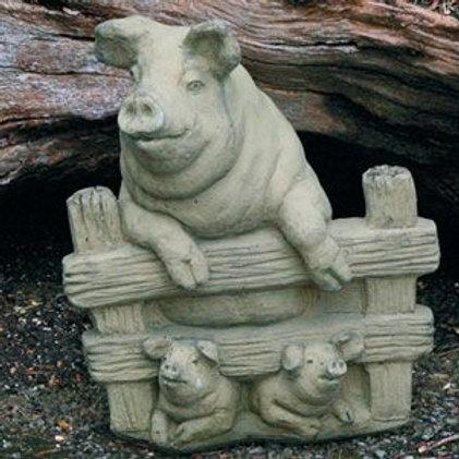 Dragonstone Medium Pig Statue