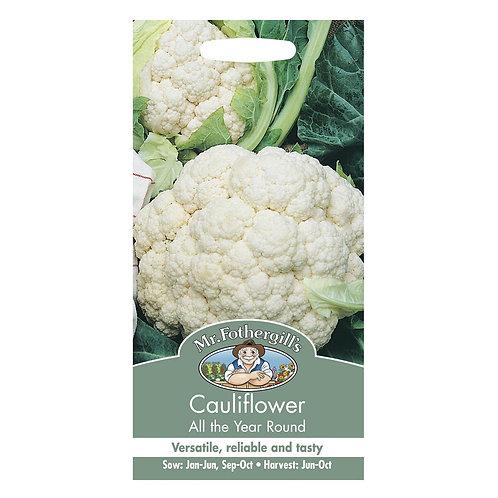 Mr Fothergills Seeds Cauliflower