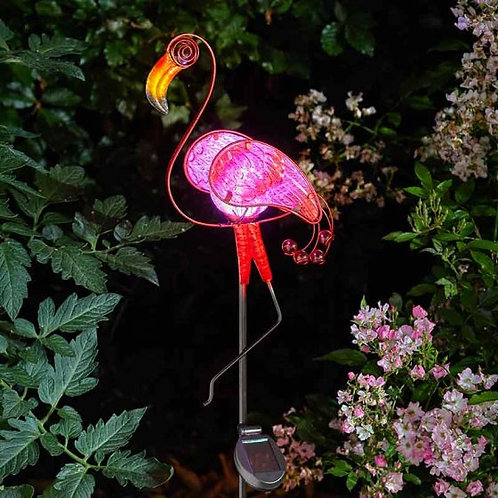 Flamingo Solar Stake Light