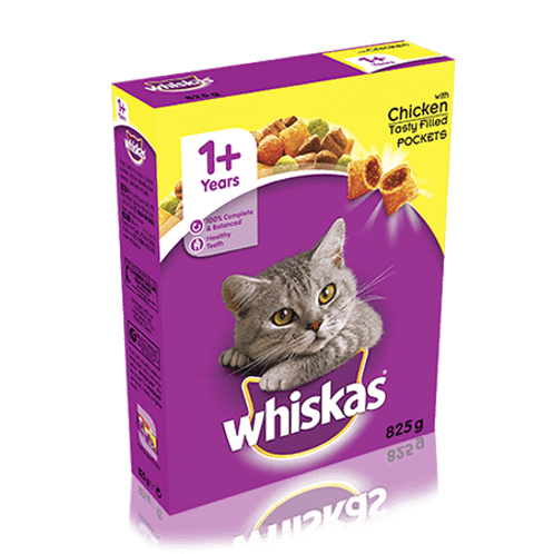 Whiskas Dental Protection 825g