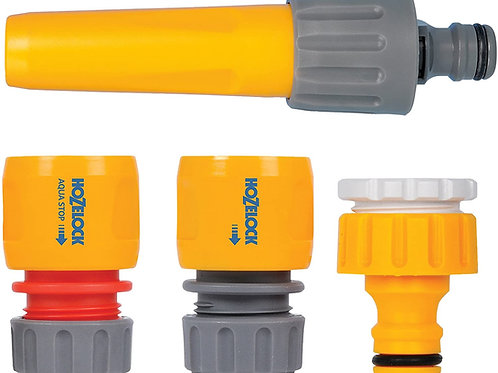 Hozelock Fittings & Nozzle Starter Set