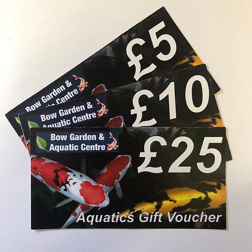 Bow Aquatic Centre Gift Voucher