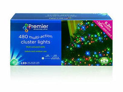 Premier 480 LEDs Multi-Action Cluster Lights