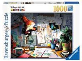 Ravensburger Disney The Artist's Desk 1000 Piece Puzzle