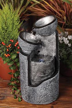 Pillar & Bowls Water feature