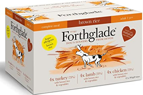 Forthglade Complete Multi Pack of 12 Brown Rice
