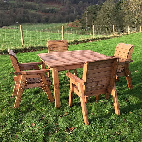 Charles Taylor Four Seat Square Set