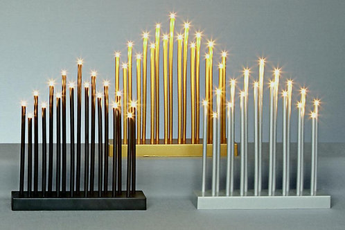 Premier 29cm Candlebright With Timer 17 Warm White LEDs