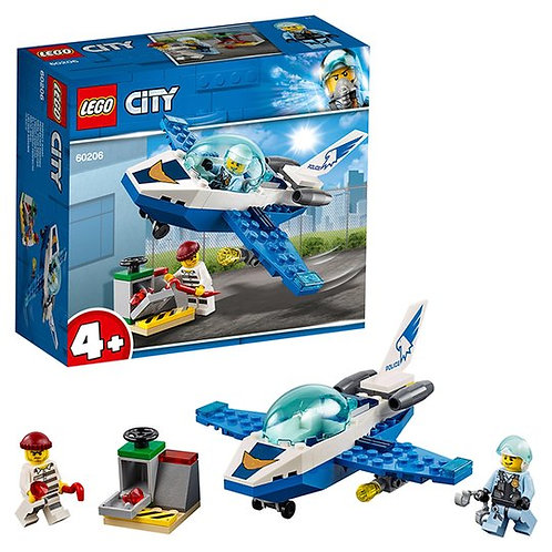 Lego City Police 4+Sky Police Jet Patrol