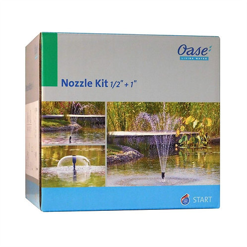 "Oase Filtral Fountain Kit Nozzle 1/2"" + 1"""