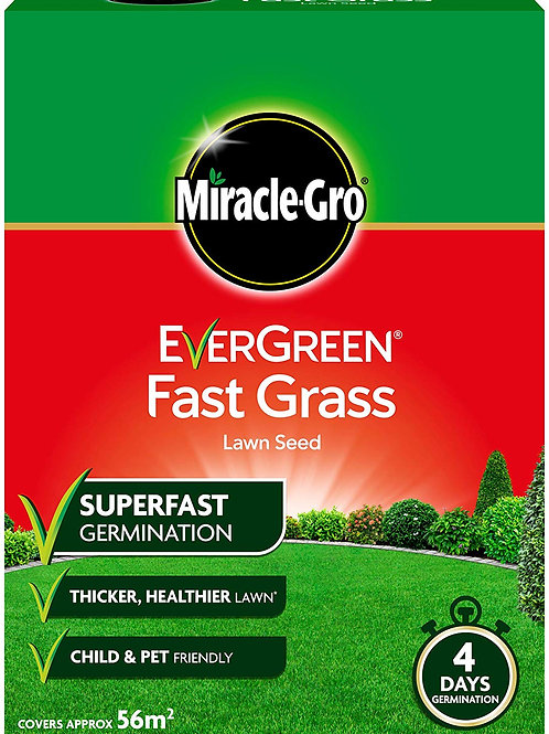Miracle Gro Lawn Seed Fast Grass