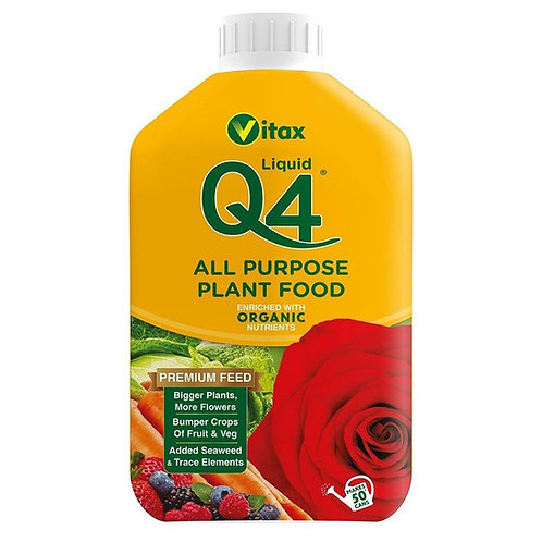 Vitax Q4 All Purpose Liquid 1L