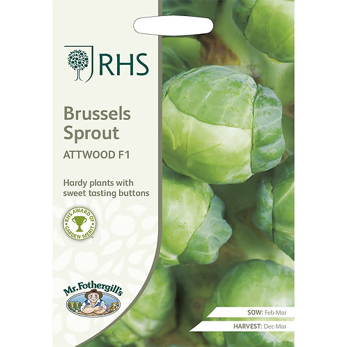 Mr Fothergills Seed Brussels Sprout