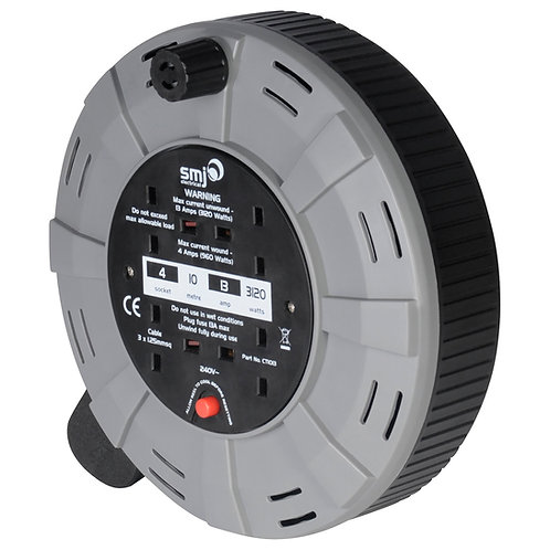 Cable Reel With Socket