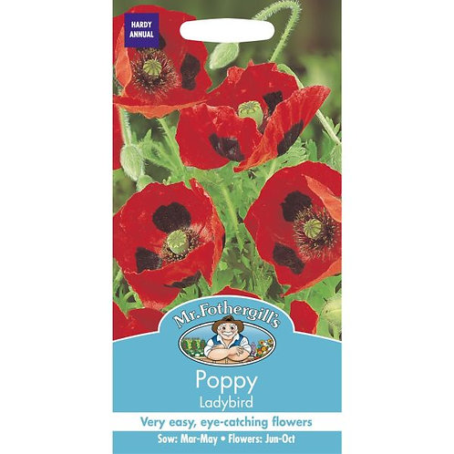 Mr Fothergills Seed Poppy Ladybird