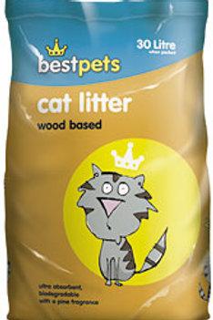 Bestpets Wood Based Cat Litter 30L
