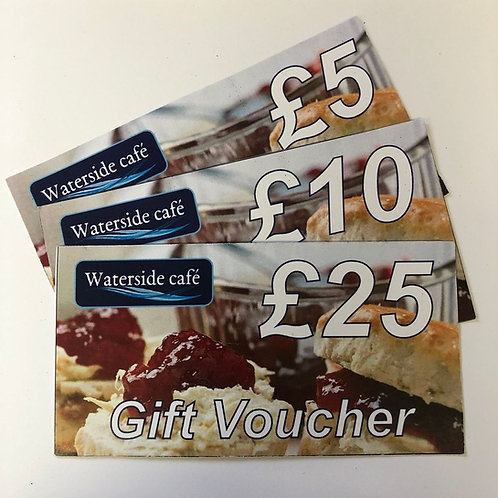 Waterside Café Gift Voucher