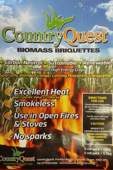 Biomass Briquettes Country Quest