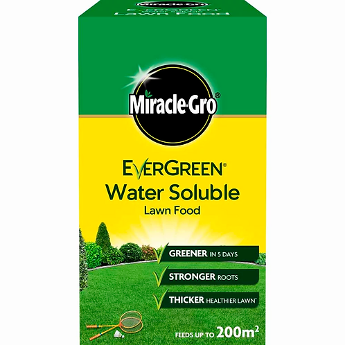 Miracle Gro Lawn Food Water Soluble