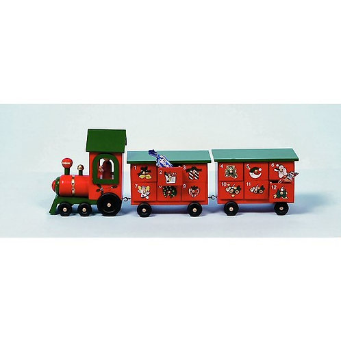 Premier Wooden Train Advent Calendar
