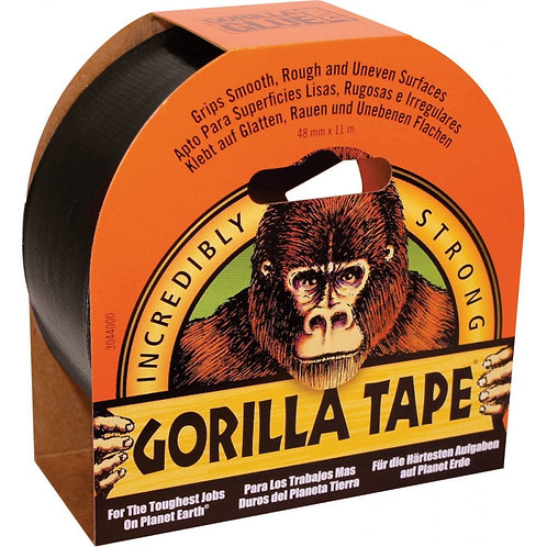 Gorilla Tape 11m x 48mm Black