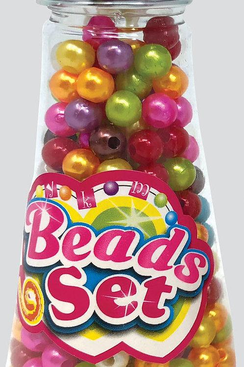 Fashion Jewellery Bead Set In Bottle