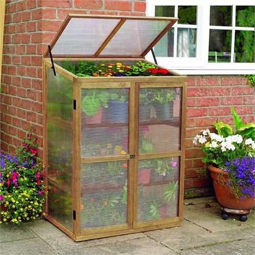 Gardman Wooden Growhouse (Mini Greenhouse)