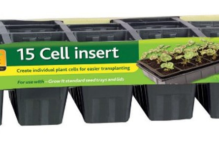 Grow It 15 Cell Inserts Pk 5